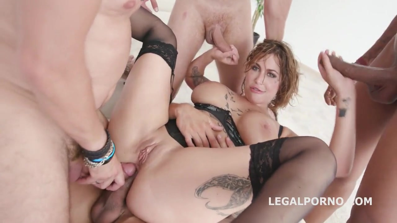 Blonde Teen Gangbang Old Men